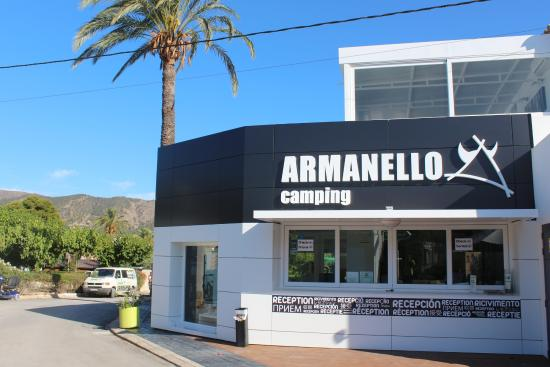 Camping Armanello: Recepcion