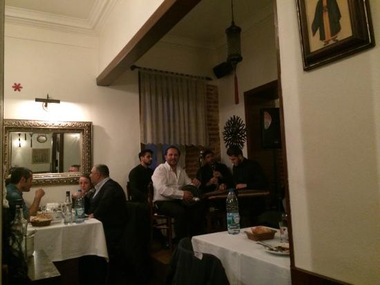 Boncuk Restaurant: the band