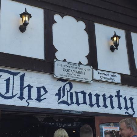 The Bounty: With a motto like this who needs customers?
