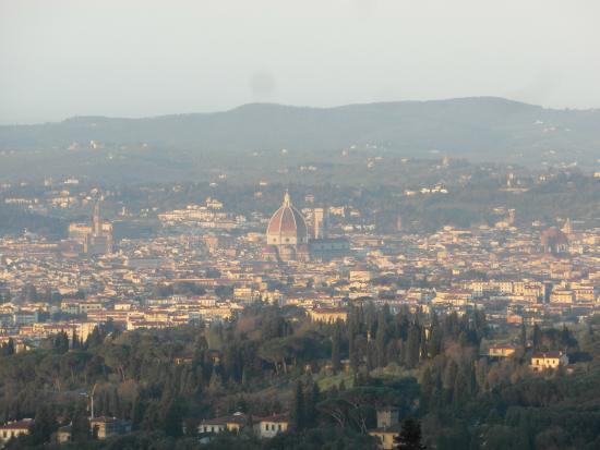 Villa Miralunga: Перед вами - Флоренция