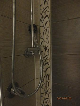 Linden House Hotel: מתקן מקולקל ללא מדף.