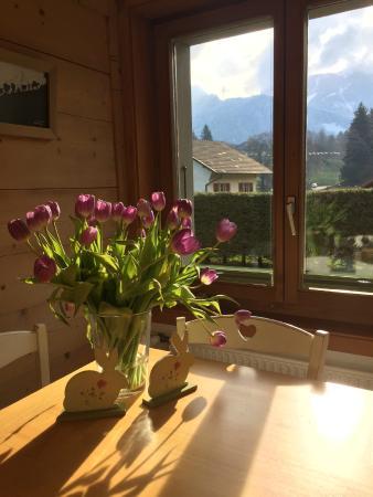 La ferme du bourgoz : La salle à manger