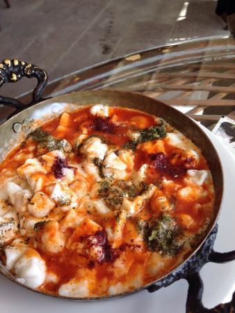 Teras Cafe & Restaurant: Turkish ravioli
