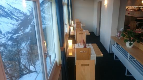 Great View Food Drinks Picture Of Panoramic Restaurant Alpina - Hotel alpina murren switzerland