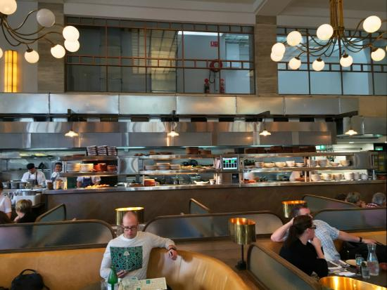 Open Kitchen Picture Of Jamie S Italian Adelaide Tripadvisor