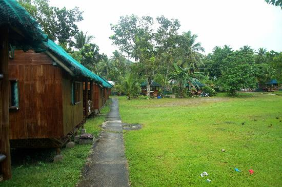 Guindulman, Philippines : The cottages