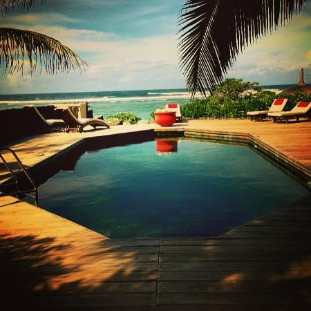 La Maison D'ete Hotel: une des 2 piscines