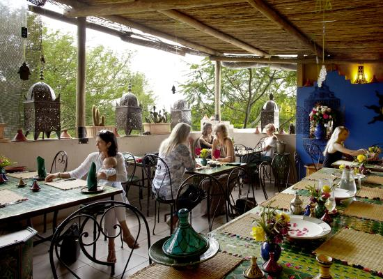 Rooftop Cafe Picture Of Moroccan House Pretoria