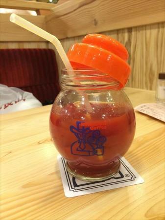Komeda Coffee, Ikebukuro Nishiguchi: Tomato Juice