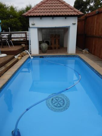 Mountain View Lodge Montagu: Pool for the ones who dare.