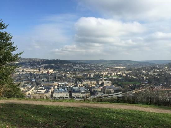 Devonshire House: View over Bath from the nearby Alexandra park