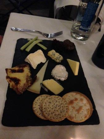Sebastians Hotel: Cheese Board