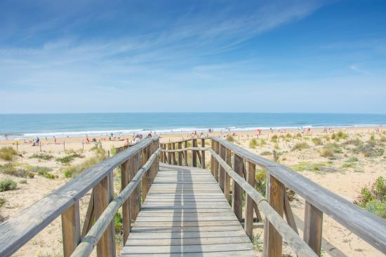 Acceso playa Punta Umbria