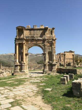 Cuicul Roman Ruins: Djemila