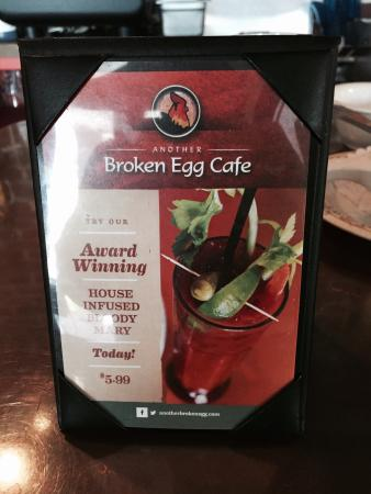 Another Broken Egg Cafe: House Infused Bloody Mary