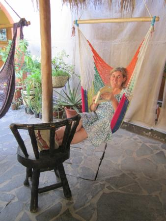 Hostel La Siesta: Hammock swings