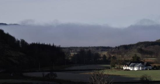 Kilmartin Hotel : room with a view