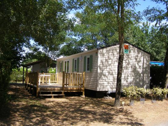 Bungalow pagan photo de camping le bois joli bois de for Camping le bois joli la chambre