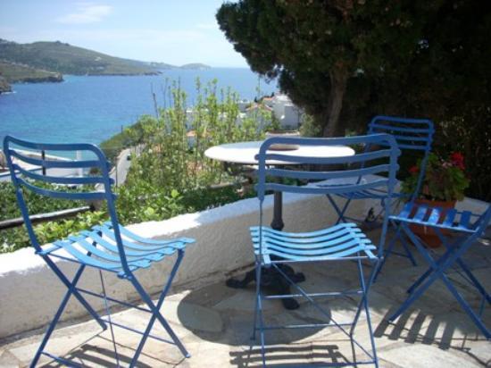 Blue Dolphin: Garden view