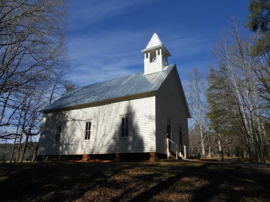 Cades Cove Visitor Center: The Methodist Church