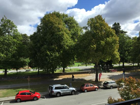 Christchurch YMCA: View from balcony