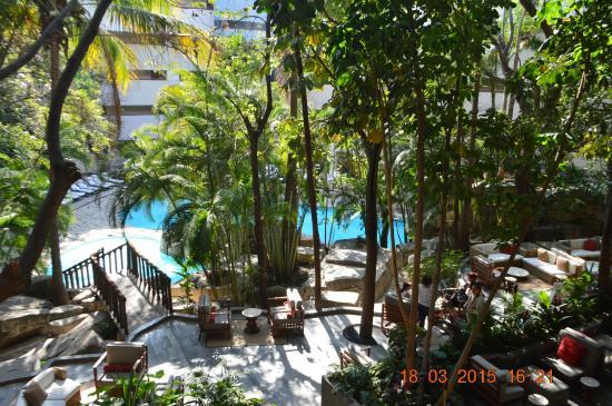 Marriott Tuxtla Gutierrez Hotel: Piscina