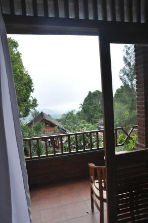Karangsari Guest House: Balcony