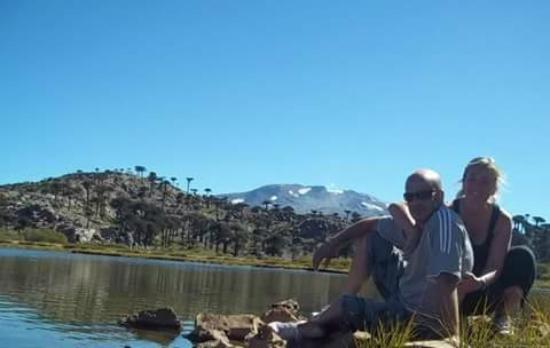Caviahue, Argentinien: laguna escondida