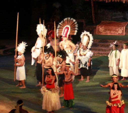 Te Moana Nui, Tales of the Pacific: O Show