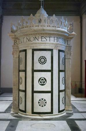 Museo Marino Marini: Alberti's Holy Sepulchre of Jerusalem, c.1467