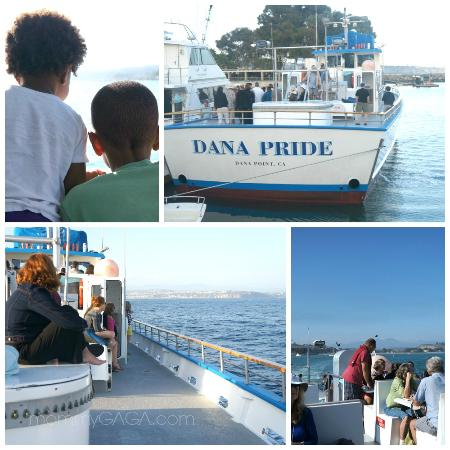 Dana Point, CA: A look at the Dana Pride boat