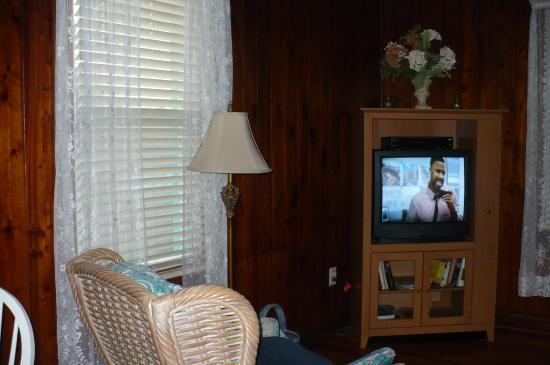 Tiki Palms Inn: Living area - Yester Year suite