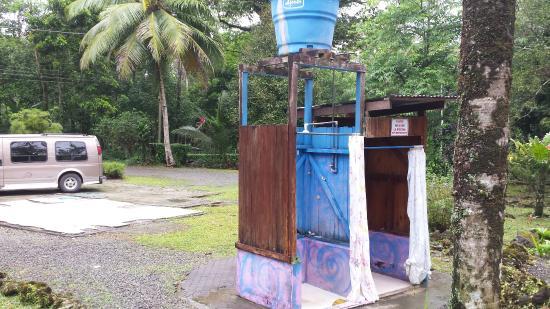 Restaurante Bar Boca Chica: Duschen