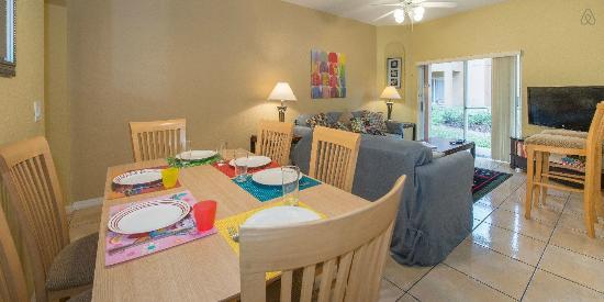 Regal Palms Resort & Spa: Sala de Jantar em Casa na Disney Maravilhosa