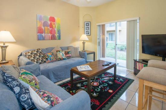 Regal Palms Resort & Spa: Sala de Estar em Casa na Disney Maravilhosa