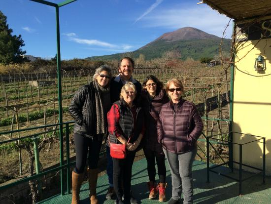 Gaetano's Pompeii Tours: Winery on the slopes of Vesuvius