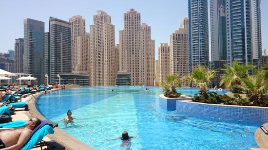 Picture of the address dubai marina dubai The address dubai marina swimming pool