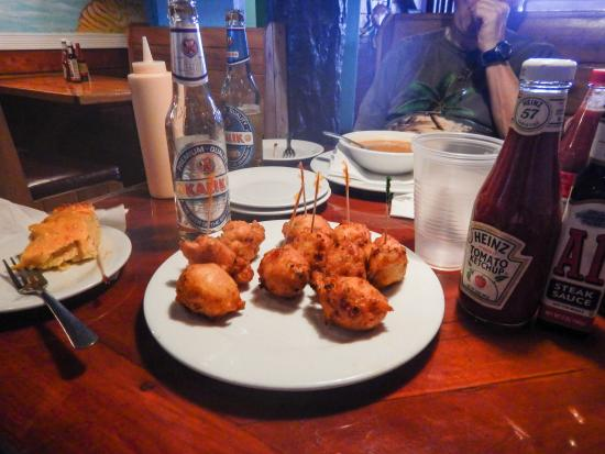 Fish Fry's : Conch Fritters