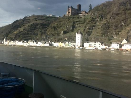 Hotel Zur Alten Post: River Rhine