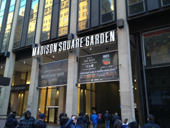 Hot Dogs Churros E Cerveja Picture Of Madison Square Garden New York City Tripadvisor