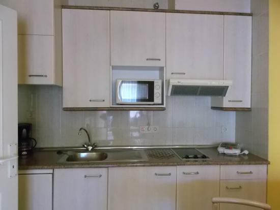 Aparthotel las Dunas: Cocina
