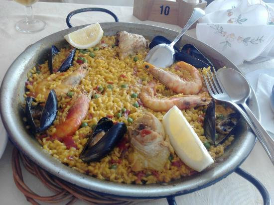 Les Doyes: Paella para dos de menu