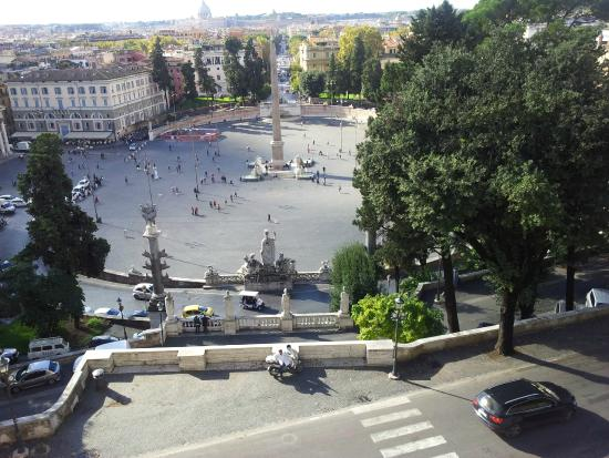 Piazza del Popolo dalla terrazza del Pincio - Picture of Piazza del ...