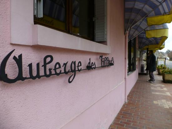 Restaurant Auberge les Tilleuls : Auberge les Tilleuls: entrée