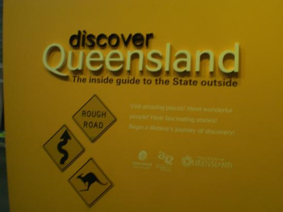 Queensland Museum South Bank: Signage