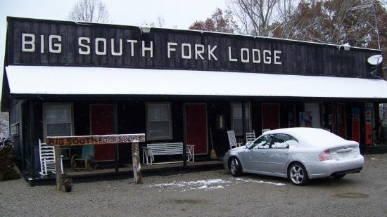 Big South Fork Lodge & Horse Campground: Motel rooms at Big South Fork Lodge in November