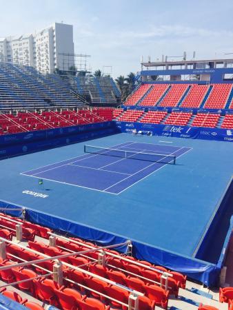 Estadio de tenis!