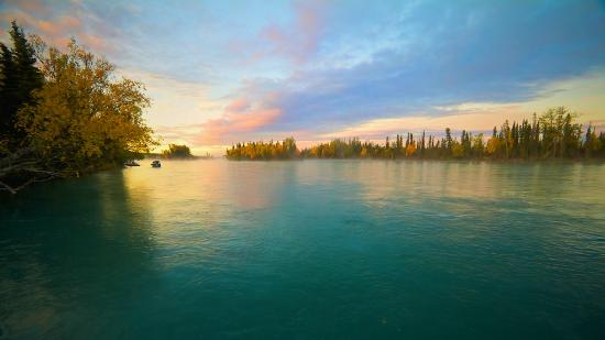 6:AM on the Kenai