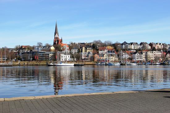 Arcadia Hotel Flensburg : Blick in die Bucht