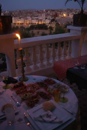 Riad Arabesque: Terrace